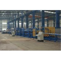 China Mineral Wool / Glass Wool Sandwich Production Panel Line, EPS Sandwich Panel Line on sale