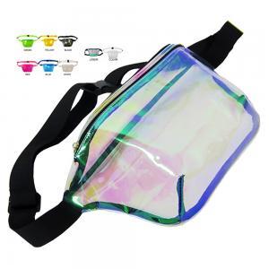 Wholesales Women Waist Bag Custom Clear PVC Ladies Fanny Bags Cute Smart Bum Belts Waist Packs Supplier Manufactures