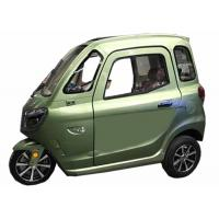 China ECO Enclosed Electric Tricycle 60V45Ah Battery 1000W Silent Motor Green Energy on sale