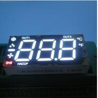 Multiplexed Seven Segment LED Display Ultra White For Heating / Cooling Control Manufactures