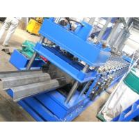 Highway Fence Cold Bending Roll Forming Machine 5 Rollers Leveling Hole Punching for sale