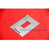 Buy cheap Aluminum 5052 6061 6063 Metal Stamping Process Frame with Silver / Black Anodize from wholesalers