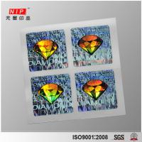 China Attractive Logo Printed  Custom 3D Hologram Sticker on sale