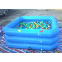 Eco Friendly Inflatable Swimming Pool Triple Tube Long Lifetime UL Approved Manufactures
