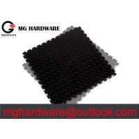 Black PVC interlocking mats
