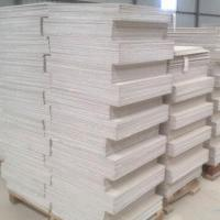 China Non-asbestos 100% Fiber Cement Board with Good Surface Finish and Easy to Work/Fix/Decorate Features on sale