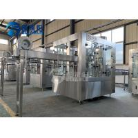Good Solution Energy Drink Plastic Bottle Filling And Capping Machine For Round / Square Manufactures