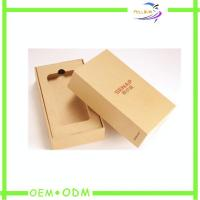 New Design Mobile Phone packaging Box With EVA Insert , Hinge Box Type Manufactures