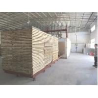 Stable Thermo Treated Lumber , 80000 Kcal / H Heat Treating Wood In Oven Manufactures