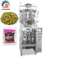 China Pillow Bag Raisins Automated Packing Machine With Colorful Touch Screen on sale