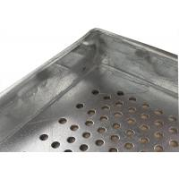 Metal Perforated Aluminum  Tray for food industries,600X400 size Manufactures