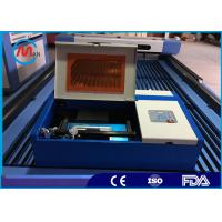 China Mini 40w Co2 Laser Engraving Cutting Machine For Leather Hermetic Co2 Glass Tube on sale