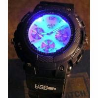 RF MP3 Watch with LED Backlight Manufactures