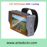 China Wristband AHD Camera Tester, CCTV Tester AHD Monitor with 4.3 inch LCD TFT screen on sale