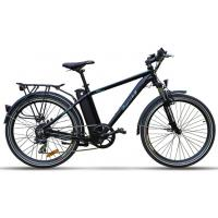 Pedal Powered Electric Bike , Intelligent Brushless Motor Assisted Bike Manufactures