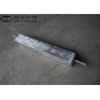 High Potential AZ63C M1C Magnesium Anode With Standard Ribbon Steel Core Manufactures