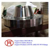 UNS S32750 2507 1.4410 ASTM A182 F53 WN flange Manufactures