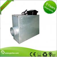 Square Restaurant Silent Inline Fan , Inline Bathroom Exhaust Fan Forward Curved Manufactures