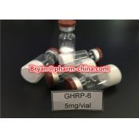 98% Purity Pharmaceutical Raw Materials Ghrp-6 Growth Hormone Polypeptide Lyophilized Raw Powder Manufactures