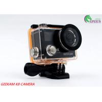 Compact 2 Inch Dual Screen 4k Waterproof Action Video Camera K8 360VR 170 Degree Manufactures
