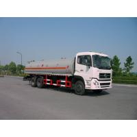 Dongfeng 6x4 245HP 4,887 US Gallon Oil Tanker Truck 18500L , ISO9001 Manufactures