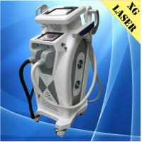 China Vertical IPL + RF + Elight + ND yag laser 4 in 1 multifunctional beauty device on sale