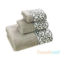 China Decorative Bath Towel Sets  Lint Free, Ultra Soft, Durable, Scratch-Free, Machine Washable. on sale