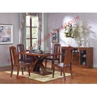 Luxury Design for Solid Wooden Furniture Dining Room Set Manufactures