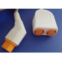Siemens Drager Dual Blood Pressure Transducer Cable , 16 Pin IBP Transducer Cable Manufactures