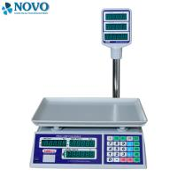 Quality Supermarket Electronic Scale Machine Give Change Function 50 Preset Memory Keys for sale