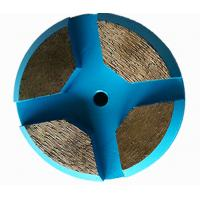 3 Inch Concrete Diamond Floor Pads Metal Bond Diamond Grinding Disc For Terrco Machines Manufactures