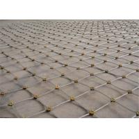 Slope Security Wire Mesh Flexible Metal Mesh Net Protection System Manufactures