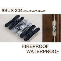 sus 304 stainless steel adjustable invisible hinge Manufactures