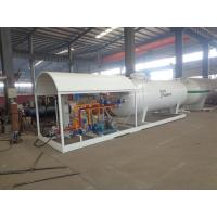5 Tons Propane Storage Tanks , Factory Assembly Station Lpg Storage Tank With Scale Manufactures