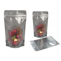 Transparent Stand Up pouch Packaging Plastic Pouch Packaging Moisture Proof Manufactures
