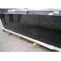 China Pollished / Honed Mongolia Black Granite , Floor And Decor Granite Slabs on sale