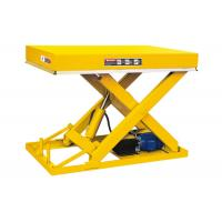 Fixed Stationary Scissor Lift Table 1 Ton Industrial Use Smooth Operation Manufactures
