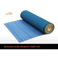 80 Grit Sandpaper Roll, Aluminium Oxide Abrasive Paper Rolls With Cotton Cloth Backing Manufactures