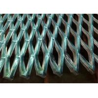 Powder Coated Aluminum Expanded Steel Diamond Mesh For Decoration Ceiling Building Manufactures