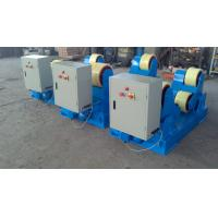 20 Ton Motor Drive Tank Turning Rolls One Idler For 500mm – 3500mm Vessel Manufactures