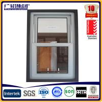 China American Style aluminium single hung windows double hung windows on sale