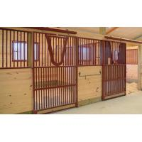 Customised Front Panel Wooden Horse Stable Wood Material Longlife Time Manufactures