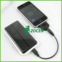 China 800MAH Portable Solar Charger , laptop / Mobile Phone Solar Charger on sale