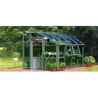 4*6ft close to a wall greenhouse with single sliding door Manufactures