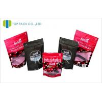 Custom Laminated Plastic Stand Up Pouches , Moisture Proof Chocolate Pouch Manufactures