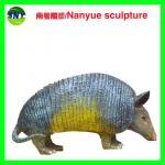 China life size animal fiberglass statue large  pangolin model as decoration statue in garden wholesale