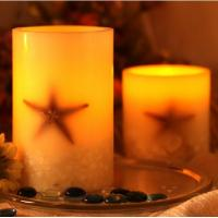 Ocean Star Candle/Starfish led candle/Sea Star candles/Candle decorations/birthday gift Manufactures