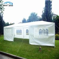 China 3x9m Steel Frame Outdoor Folding Canopy Marquee PE Cover For Wedding Event on sale