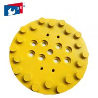 China Yellow Color Agrassive Diamond Cup Grinding Wheel For Concrete Easy To Use on sale
