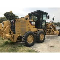 Yellow & Black Caterpillar 140k Used Motor Grader 190hp With Catc7 Engine Model Manufactures